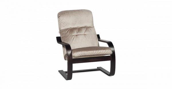 Кресло повышенной мягкости Оливер цвет Кофейный