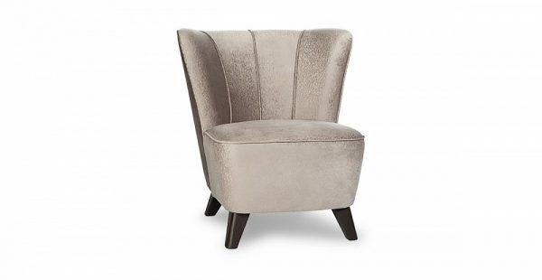 Кресло в стиле 60-х Сантьяго цвет Кофейный