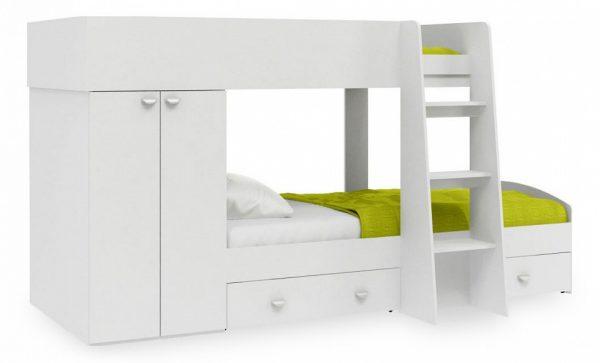 Кровать двухъярусная от производителя Golden Kids серия Golden Kids 2 Цвет белый