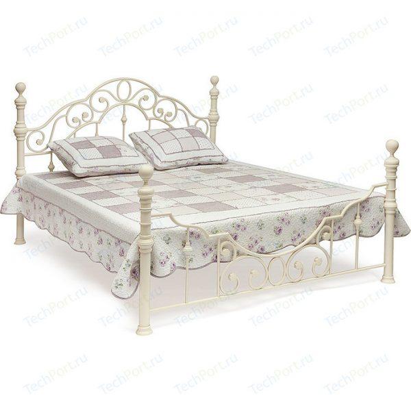 Кровать двуспальная от производителя Tetchair Victoria Цвет белый античный