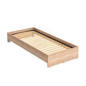 Кровать односпальная от производителя Skyland Kann KBW 208 Цвет дуб сонома