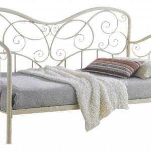 Кровать односпальная от производителя Woodville Inga Цвет белый 2000x900