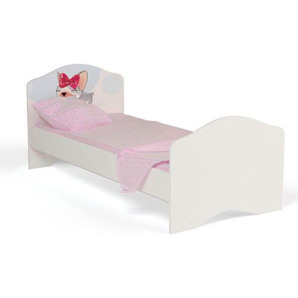 Кровать от производителя ABC KING Molly Цвет белый с рисунком