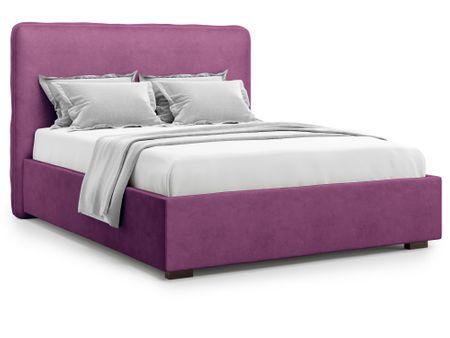 Кровать полутораспальная с ПМ от производителя Brachano (140х200) Цвет фиолетовый