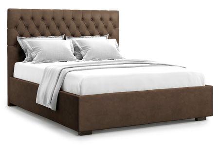 Кровать полутораспальная с ПМ от производителя Nemi (140х200) Цвет коричневый