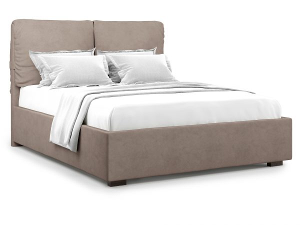 Кровать с ПМ от производителя Trazimeno (140х200) Цвет коричневый