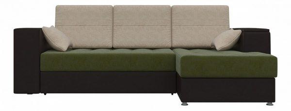 Диван-кровать от производителя с механизмом трансформации еврокнижка Мебелико Атлантис Цвет черный