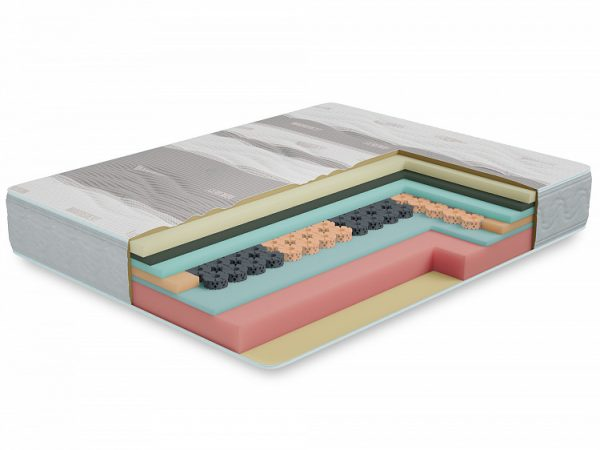 Матрас двуспальный от производителя Орион в скрутке 180х200