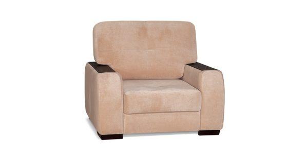 Мягкое кресло Брюссель цвет Карамель