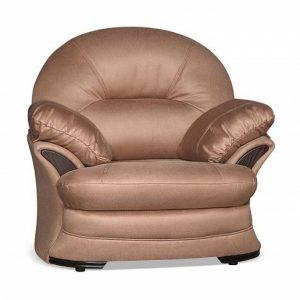 Мягкое кресло с элегантным дизайном Ланкастер цвет Золотисто-коричневый