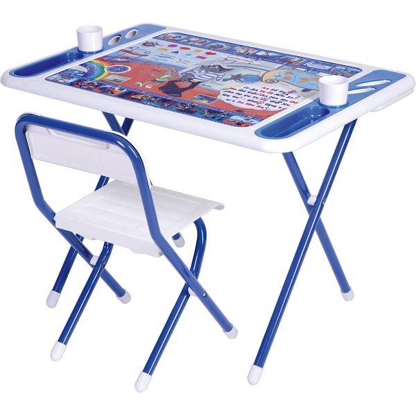 Набор детской мебели Дэми Ну, погоди (1,5- 8 лет) бело-синий от производителя