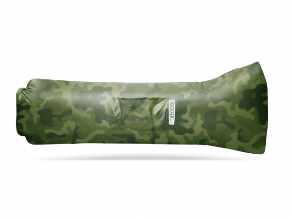 Надувной диван-гамак «Биван 2.0» цвет хаки 190 х 90 см
