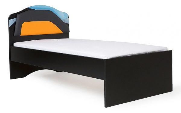Детская кровать от производителя ABC KING Pilot Цвет оранжевый, серый
