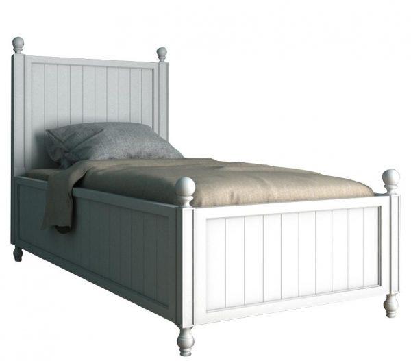 Односпальная кровать от производителя Этажерка Palermo Цвет белый