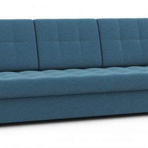 Прямой диван Атланта NEXT Синий Тик-Так