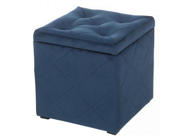 Пуф-сундук от производителя Мебельстория Ромби-2Т Цвет синий