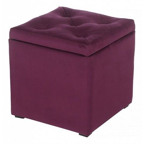 Пуф-сундук от производителя Мебельстория Тони-2Т Цвет фиолетовый