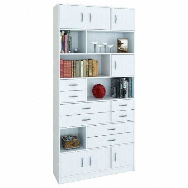 Шкаф комбинированный от производителя МФ Мастер Либерти-31 Цвет белый