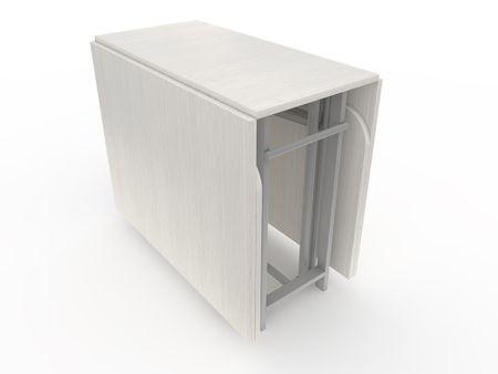 Стол-книжка (трансформер) от производителя Maksimus - 2 - Plus Цвет белый