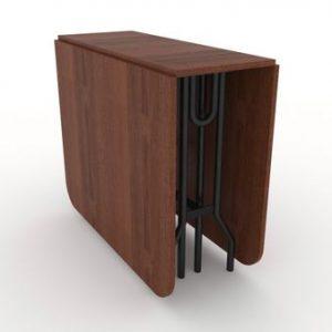 Стол-книжка (трансформер) от производителя Standart Plus Цвет коричневый