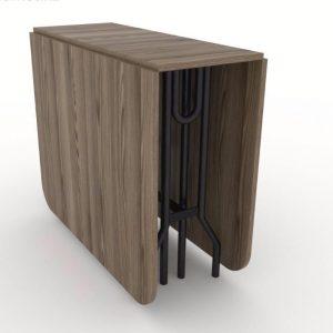 Стол-книжка (трансформер) от производителя Maksimus Plus Цвет ясень рибейра светлый