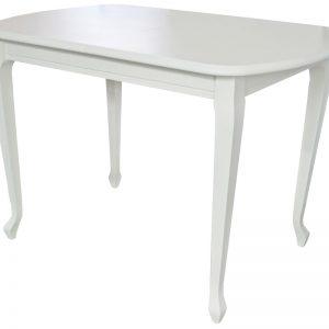 Стол обеденный Аврора мебель Прага 1 Цвет белый MBW_10544
