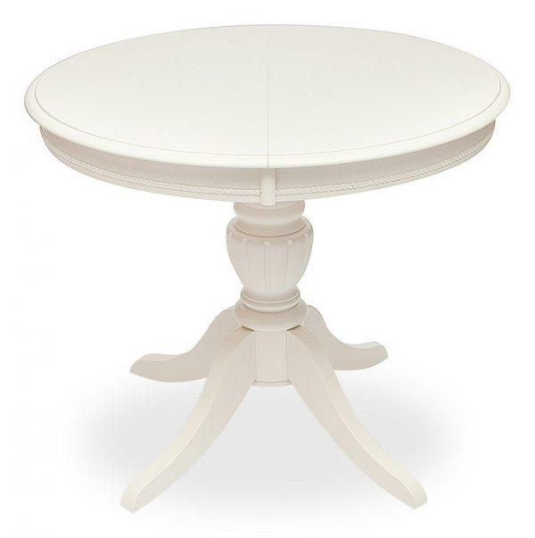 Стол обеденный круглый от производителя Woodville Arno Цвет белый