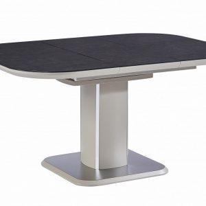 Стол обеденный раскладной от производителя Avanti PRISMA Цвет латте сатин, хром