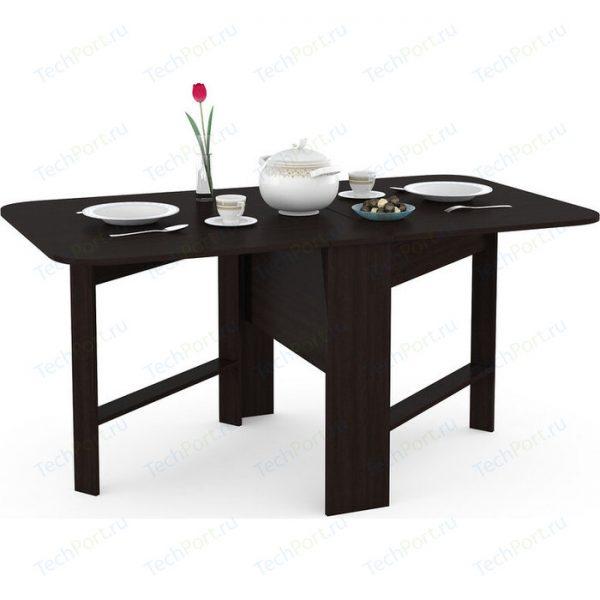 Стол обеденный раскладной от производителя MOBI Глория 609 Цвет венге магия