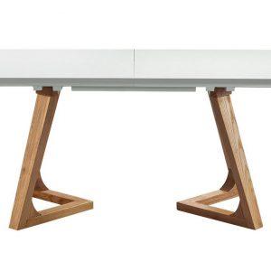 Стол обеденный раздвижной от производителя ESF T1692 (WK-03) Цвет белый, ясень