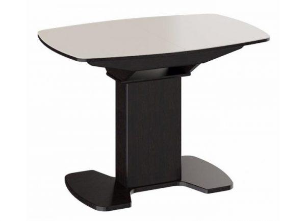 Стол обеденный раздвижной от производителя ТриЯ Портофино СМ(ТД)-105.02.11(1) Цвет бежевый, венге