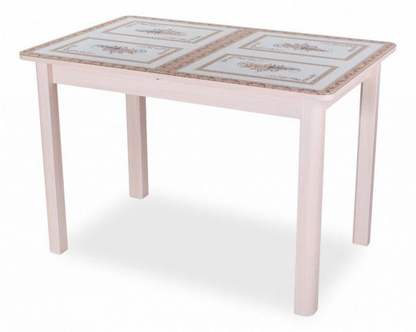 Стол обеденный со стеклом от производителя Домотека Танго ПР-1