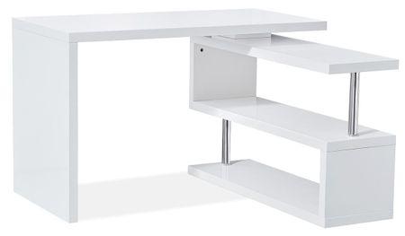 Стол письменный от производителя Creator Цвет белый