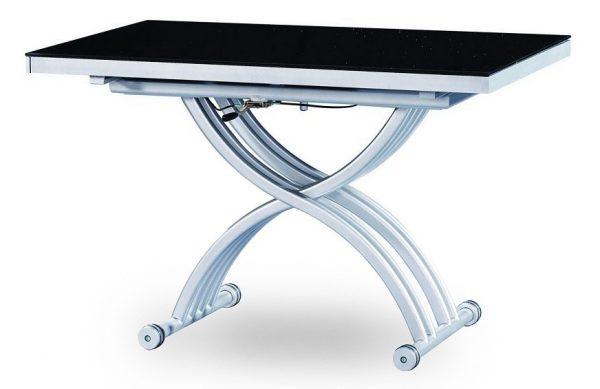 Стол раздвижной обеденный от производителя ESF В2109-1 Цвет черный, белый
