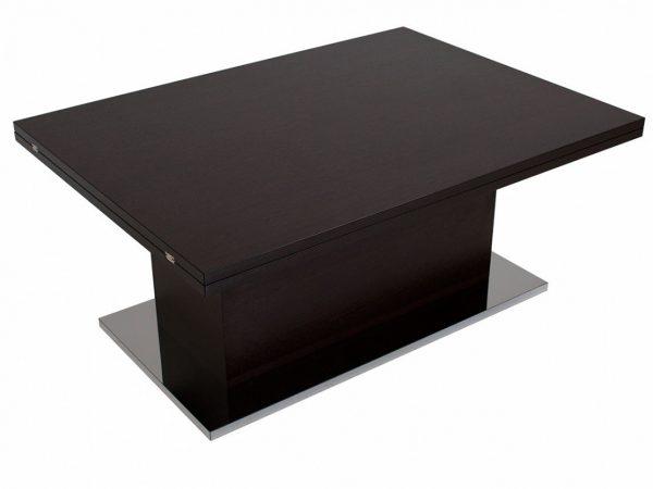 Стол-трансформер от производителя Левмар Slide We Цвет венге