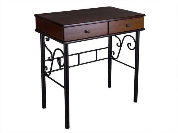 Стол туалетный от производителя Мебелик Сартон 21 Цвет коричневый, черный