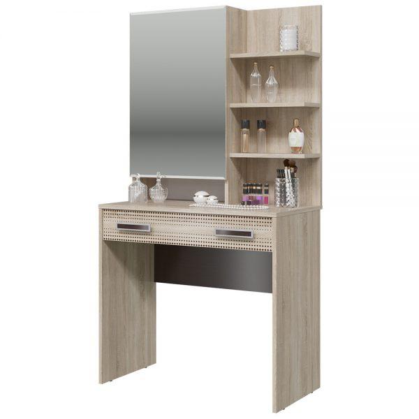 Туалетный столик от производителя Гранд-Кволити Румба 4-2524 Цвет дуб сонома