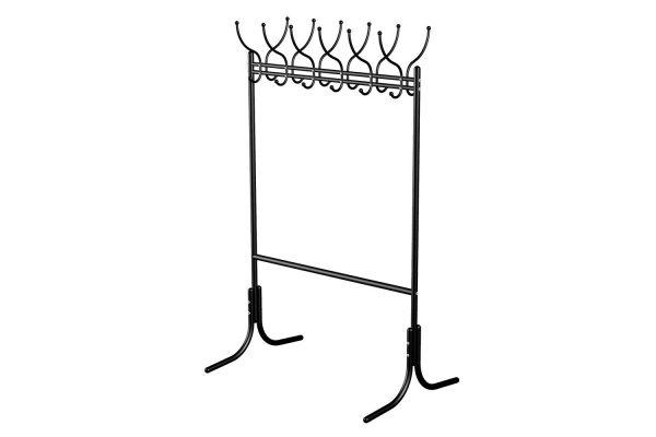 Вешалка напольная гардеробная от производителя Мебелик М-11 Цвет черный