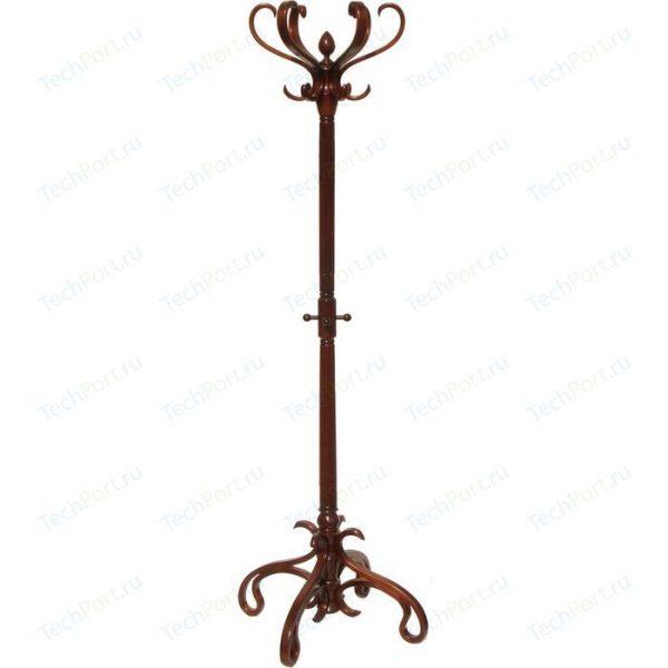 Вешалка напольная от производителя Мебелик Вешалка-стойка В-4Н Цвет темно-коричневая