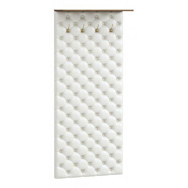 Вешалка настенная от производителя WoodCraft Гилберт Цвет орех экко, белый