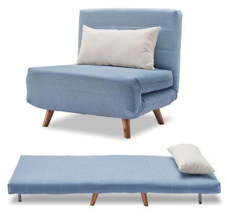 Кресло-кровать от производителя Flex Цвет голубой