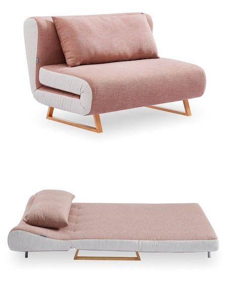 Диван-кровать 2-х местный от производителя Rosy Цвет коралловый