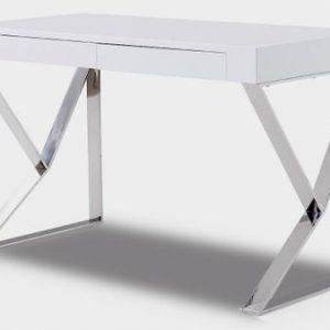 Стол письменный с 2 ящиками от производителя Edgar Цвет белый