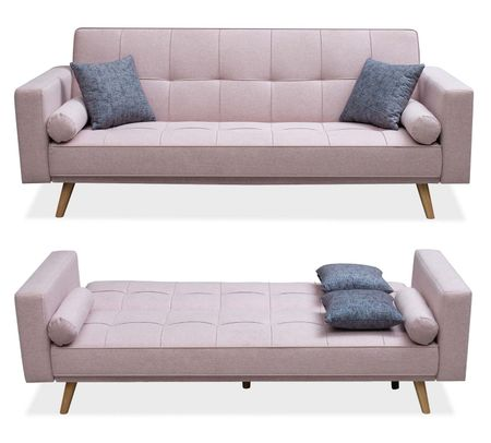 Диван-кровать от производителя Scandinavia Цвет пепельная роза