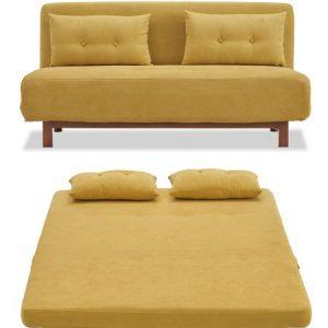 Диван-кровать от производителя Doris Цвет желтый