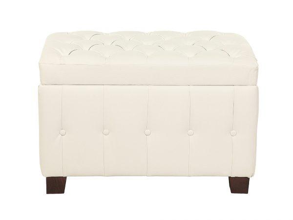 Пуф-сундук от производителя Мебельстория Гавана Цвет белый