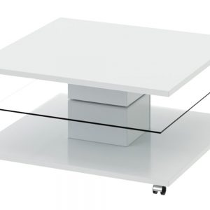 Журнальный столик глянцевый DIAMOND Цвет белый