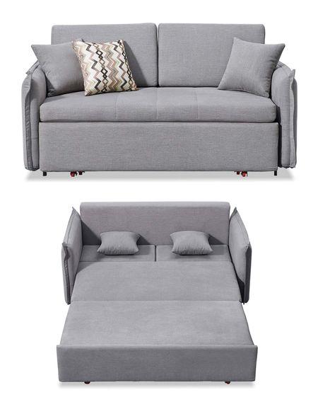 Диван-кровать от производителя Caitlin Цвет серый