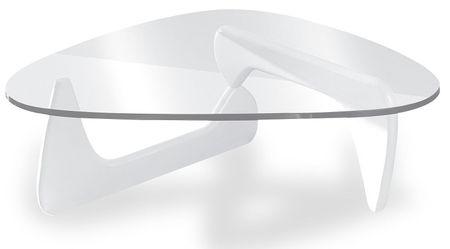 Стол журнальный от производителя Muse (в стиле Noguchi) Цвет белый