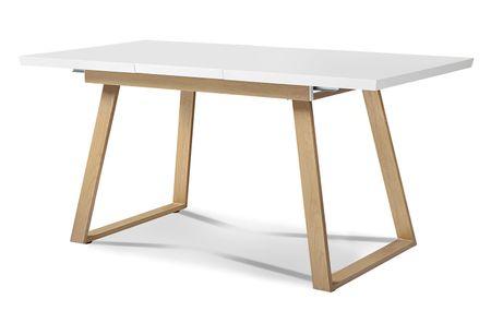 Стол раскладной от производителя Manchester 120-160 Цвет белый/вяз